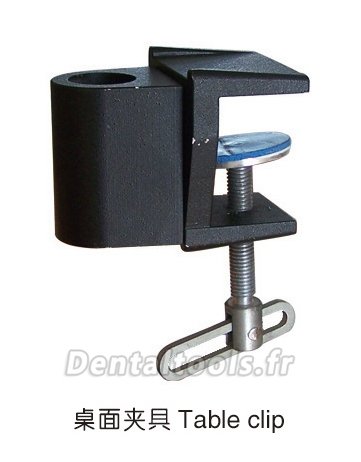 Outillage de fixation pour Lampe de diagnostic dentaire de table