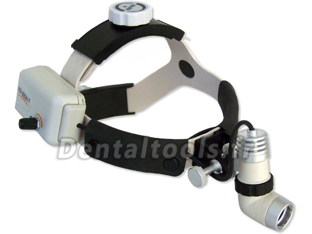 KWS® Lampe frontale dentiste/dentaire KD-202A-7 AC90-240V 3W