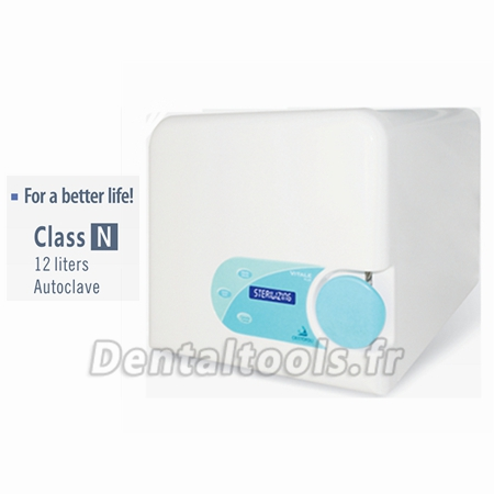 Cristófoli® Tabletop Autoclave 12 litres Classe N Vitale 12 110 V ou 220 V