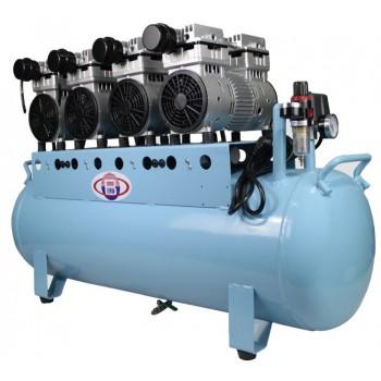 Compresseur d 39 air dentaire silencieux sans huile pour - Compresseur d air silencieux ...