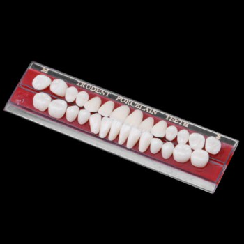 5PCS Porcelaine dentaire Dentiers matière de Alliage-Épingle couleur des dents p...