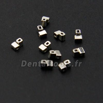 100 pcs Dentaire Orthodontique Tube croisé sertissables