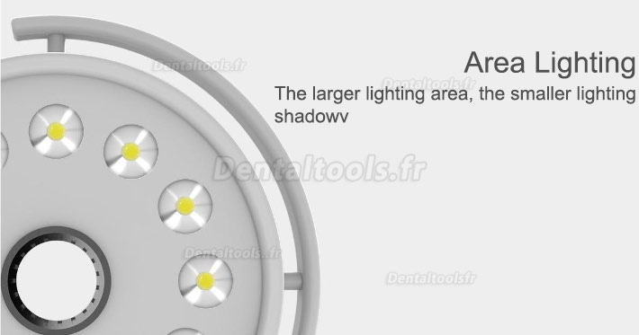 KWS® 36W Lampe Scialytique dentaire plafonnier LED Shadowless KD-202D-3C