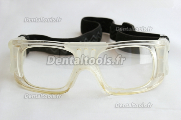 Lunettes-masques sportives de radioprotection